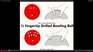 Fingertip Drilled Ball