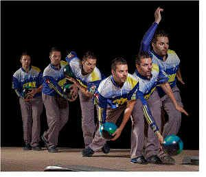 Panorama of Images of Jason Belmonte