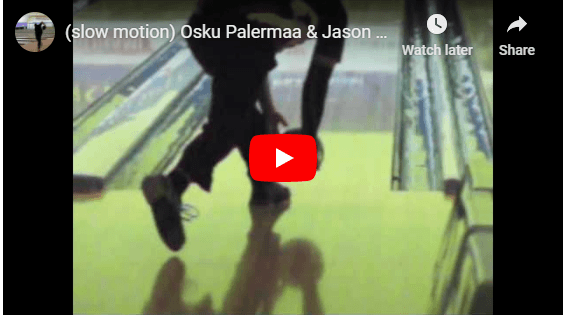Slow Motion Video Comparing Osku Palmeraa And Jason Belmonte