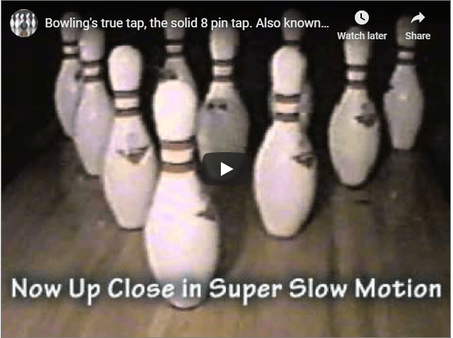 Image Of The True Tap Video In Bowling For Advanced Bowling Tips And Techniques