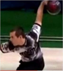 Cupping the wrist In Bowling-Cupped Wrist Of Rhino Page