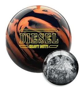 Hammer Diesel Heavy Duty Bowling Ball With Free Path Ball