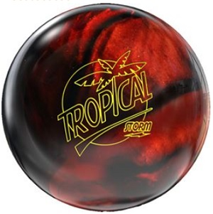 Image of Storm Tropical Storm Copper-Black Hybrid Bowling Ball
