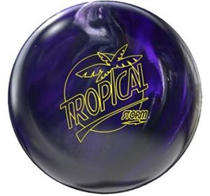 Image of Storm Tropical Storm Violet-Charcoal Pearl Bowling Ball