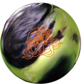 Storm Tropical Surge Yellow-Black Bowling ball