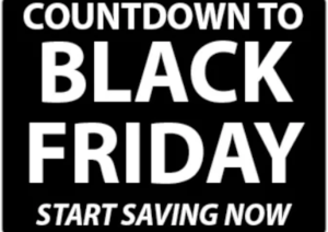 Image of Countdown to Black Friday Banner