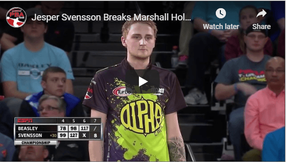 2016 Tournament Of Champions for Two Handed Bowling Tips