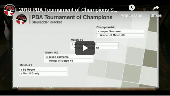 2018 PBA Tournament Of Champions For Two Handed Bowling Tips