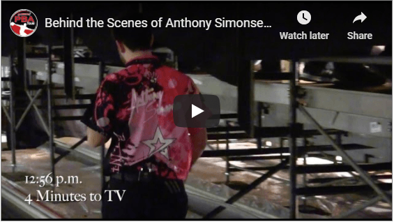 Image of Anthony Simonsen Behind The Scenes At The 2016 Masters Championship
