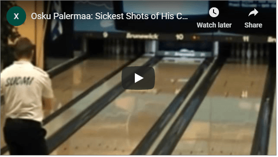 Osku Palermaa's Sickest Shots Of His Career For Two Handed Bowling Tips