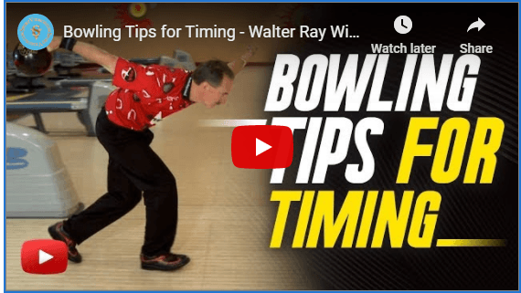 Bowling Tips For Timing By Walter Ray Williams Jr