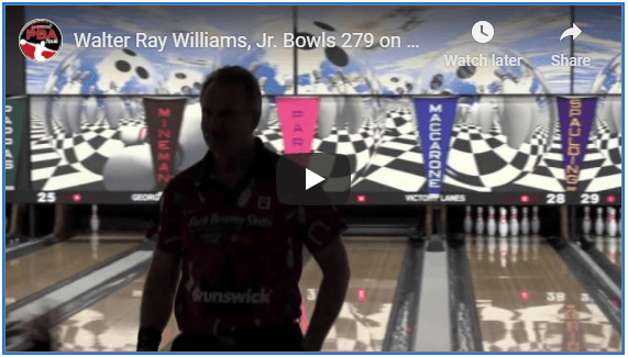 Video Of Walter Ray Williams Jr Bowling A 279 While Warming Up For Match Play