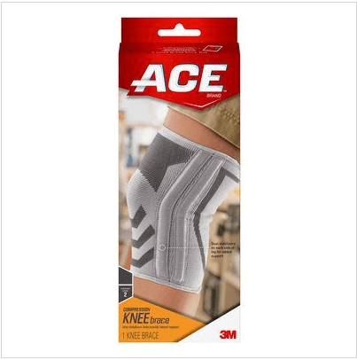 Ace Compression Knee Brace With Side Stabilizers