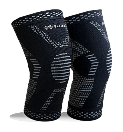Blitzu Knee Compression Sleeve For Knee Pain
