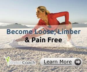 Image Of Woman Stretching for Stretch Coach Stretching Program To Help Prevent Back Pain From Bowling.