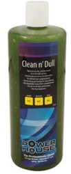 Powerhouse Clean n' Dull Shown In Ball Cleaners And Polishes