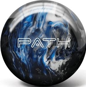 Pyramid Path Blue Black and White Bowling Ball
