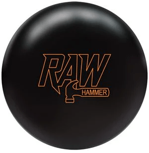 Raw Hammer Black Solid Bowling Ball For Hammer Bowling Balls New Releases